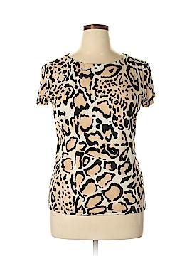 Carmen Carmen Marc Valvo Short Sleeve Top Size XL