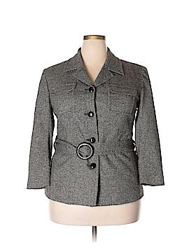 Jones New York Signature Wool Blazer Size 18 (Plus)