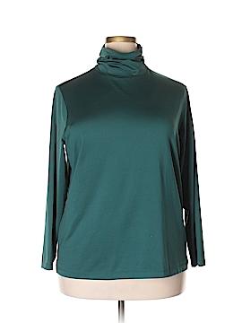Susan Graver Long Sleeve Turtleneck Size 1X (Plus)
