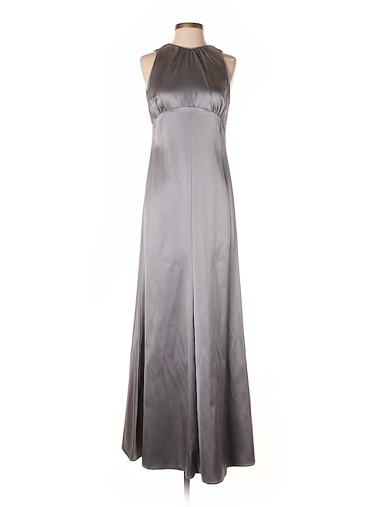 Giorgio Armani Metallic Silver Cocktail Dress Size 40 (IT) - 90% off ...