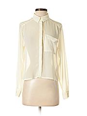 H&M Women Long Sleeve Blouse Size 4