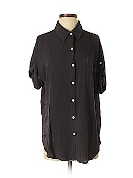 Allen Allen Short Sleeve Blouse Size S