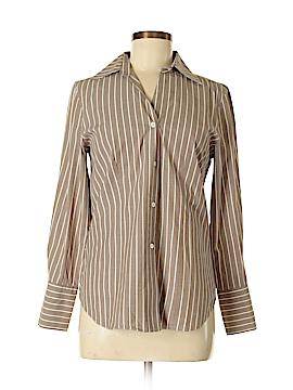 Elliott Lauren Long Sleeve Button-Down Shirt Size 6