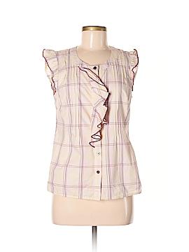 Edme & Esyllte Short Sleeve Button-Down Shirt Size 8
