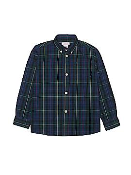 IZOD Long Sleeve Button-Down Shirt Size 7