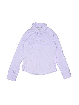 Columbia Long Sleeve Button-Down Shirt Size 7 - 8