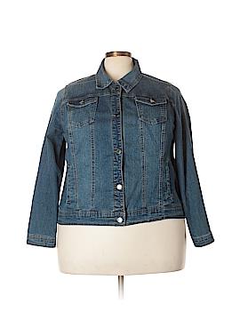 Relativity Denim Jacket Size 2X (Plus)
