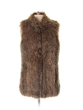 Rachel Zoe Faux Fur Vest Size S