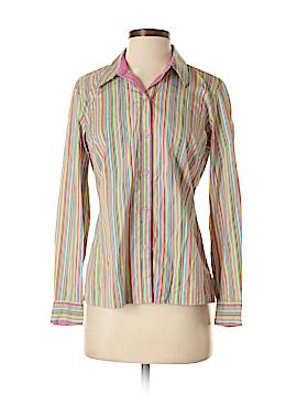 Sigrid Olsen Sport Long Sleeve Button-Down Shirt Size S