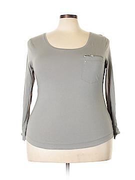 Bay Studio 3/4 Sleeve Top Size 1X (Plus)