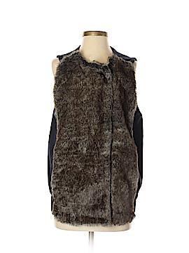 Elevenses Faux Fur Vest Size XS