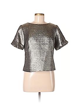 Bigio Collection Short Sleeve Blouse Size 6