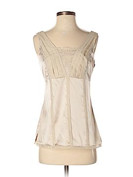 White Stag Sleeveless Silk Top Size 2