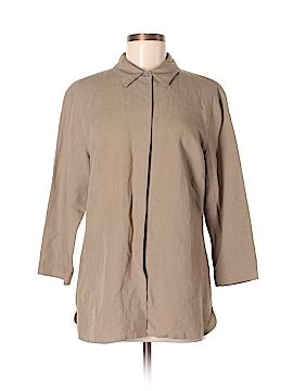 Tyler Boe 3/4 Sleeve Button-Down Shirt Size 12