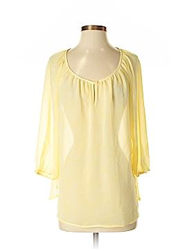 Ann Taylor Factory 3/4 Sleeve Blouse Size 6
