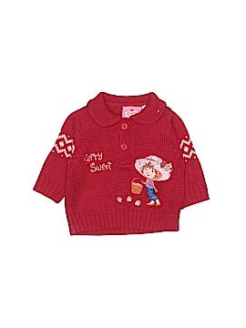Strawberry Shortcake Pullover Sweater Size 3-6 mo