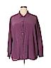 Eileen Fisher Women Long Sleeve Silk Top Size 3X (Plus)