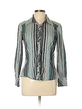 Rafaella Long Sleeve Button-Down Shirt Size 10
