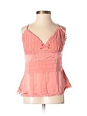 Banana Republic Factory Store Women Sleeveless Silk Top Size 4