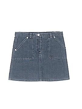 Petit Bateau Denim Skirt Size 4T