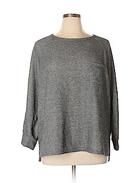 Kim & Cami Sweatshirt Size 2X (Plus)