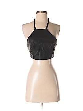 TOBI Faux Leather Top Size XS