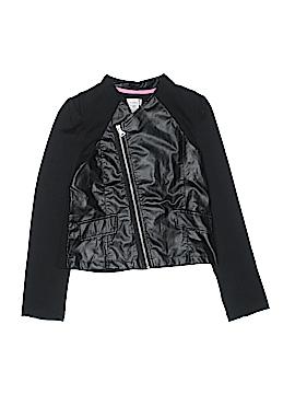 Dreampop by CYNTHIA R. Faux Leather Jacket Size 16