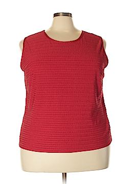 DressBarn Sleeveless Blouse Size 22/24 (Plus)