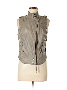 Blanc Noir Faux Leather Jacket Size M