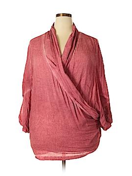 Saturday Sunday 3/4 Sleeve Blouse Size Med - Lg