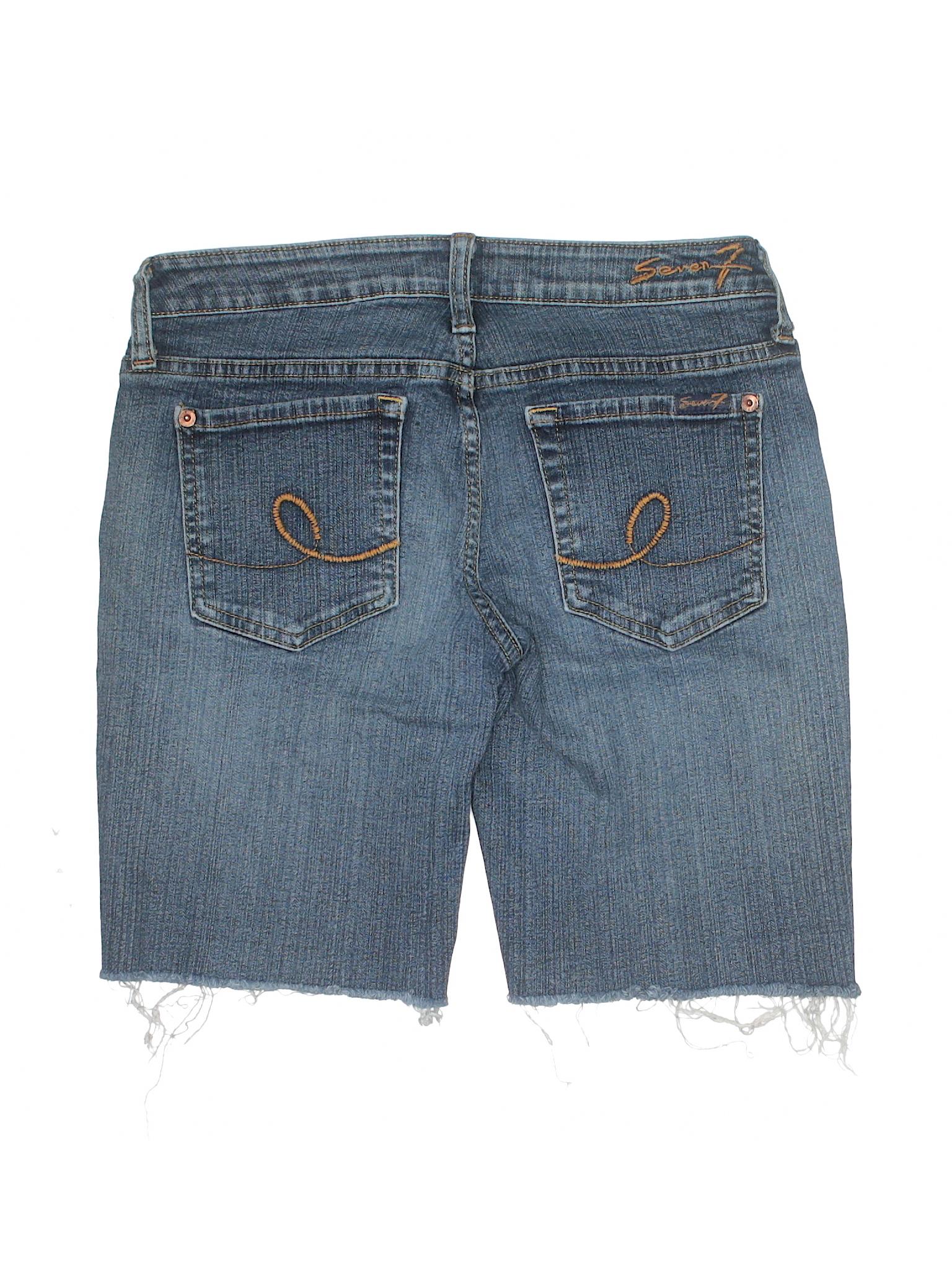 Boutique Boutique Seven7 Seven7 Denim Shorts Shorts Denim Boutique SSxqgTR