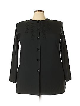 Southern Lady Long Sleeve Blouse Size 20 (Plus)