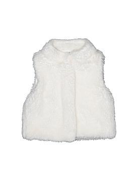 Carter's Faux Fur Vest Size 2T