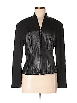 Cache Leather Jacket Size M