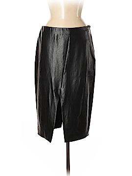 Babaton Faux Leather Skirt Size 6