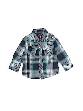 Sovereign Code Long Sleeve Button-Down Shirt Size 6 mo