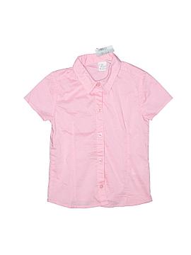 The Children's Place Short Sleeve Button-Down Shirt Size 6
