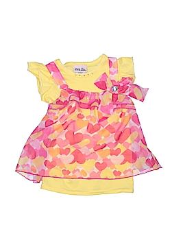 Little Lass Short Sleeve Blouse Size 4