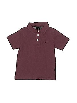 Volcom Short Sleeve Polo Size 4T