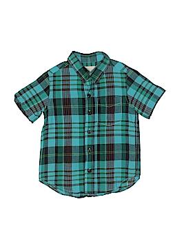 Peek... Short Sleeve Button-Down Shirt Size 4/5
