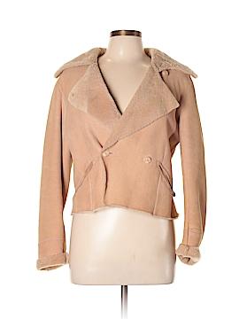 Agnes B. Leather Jacket Size 44 (EU)