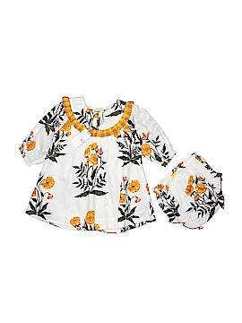 Pink Chicken Dress Size 6-12 mo