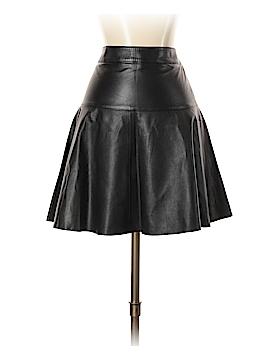 Banana Republic Leather Skirt Size 4 (Petite)
