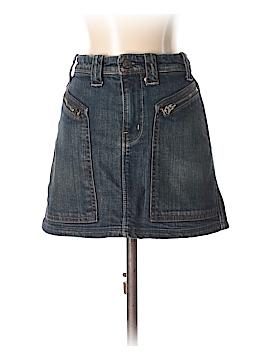 7 For All Mankind Denim Skirt 26 Waist