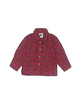 Goodlad Long Sleeve Button-Down Shirt Size 18 mo