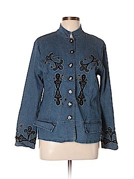 Ann Trinity Denim Jacket Size L