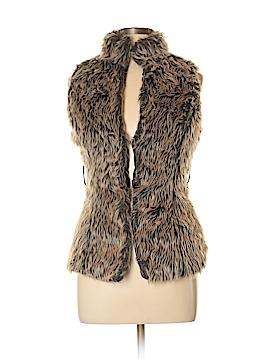 Last Kiss Faux Fur Vest Size S