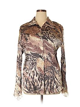 Komarov Long Sleeve Blouse Size XL
