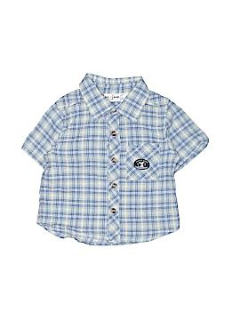 B.T. Kids Short Sleeve Button-Down Shirt Size 24 mo