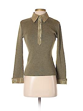 Valentino Miss V 3/4 Sleeve Polo Size 40 (IT)